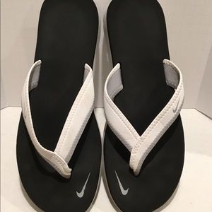 Women's Nike Celso White Thing Flip Flop